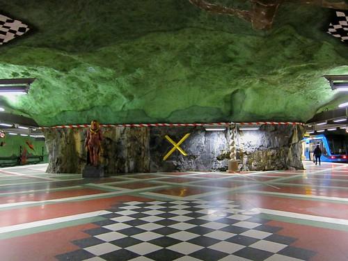 Stockholms tunnelbana - Kungsträdgården Metro Station