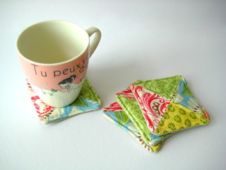 Cozy Mini Coasters - Verna