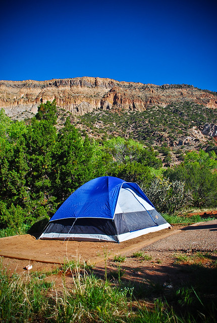 Camping at Vista Linda Campground, Jemez Mountains (New ...
