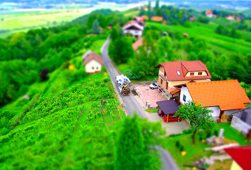 world road trip houses tower cars truck concrete miniature view little toystory mixer fake lorry slovenia technique flickrmeet msh tiltshift fromthe jpingjk slovenskegorice msh0810 zavrh msh08101 onandaround