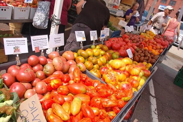 Davis Square Farmer's Market