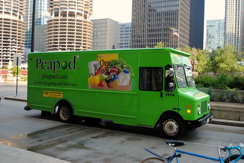 Adam Gets Around — Peapod Grocery Delivery