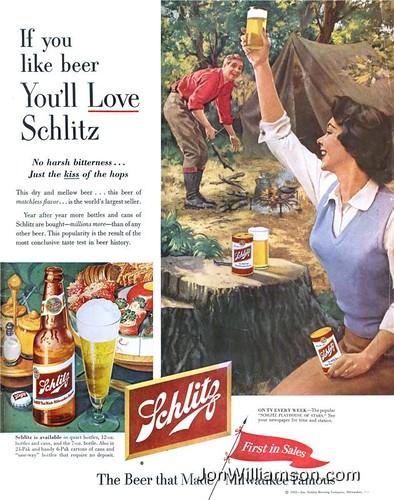 Schlitz-camping