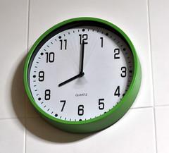 font, clock,