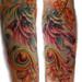 Unicorn tattoo by Muriel Zao