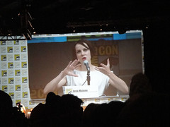 Comic-Con 2010 - Sucker Punch panel - Jena Malone