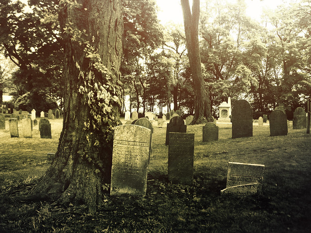 Old Burying Ground; Wakefield, MA (2010)