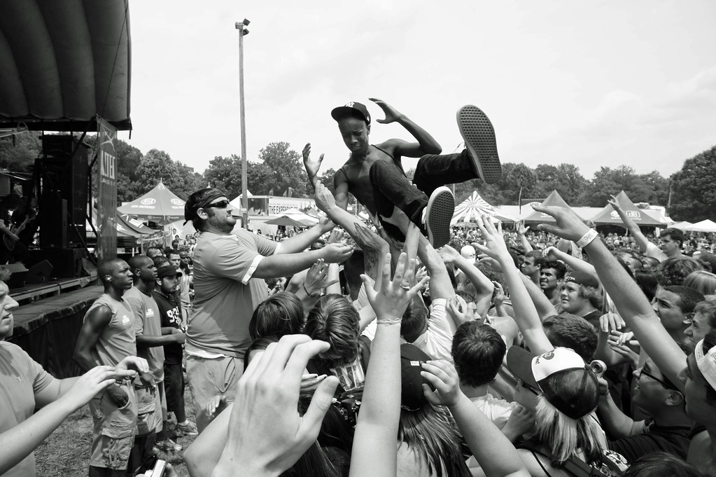 Mosh Pit Warped Tour