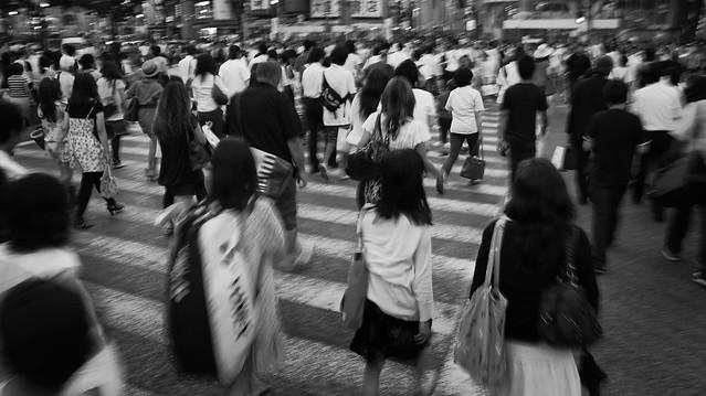 Tokyo Streets: rush hour shibuya