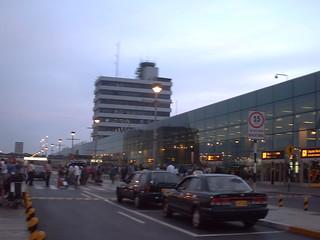 Aeropuerto Jorge Chávez de Lima Perú.