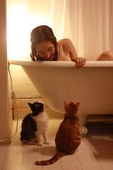 入浴や乾布摩擦