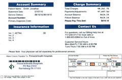My Hospital Bill