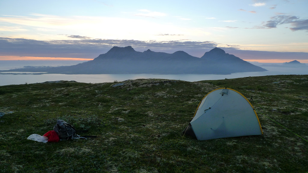 Tarptent Moment on the island Hugla