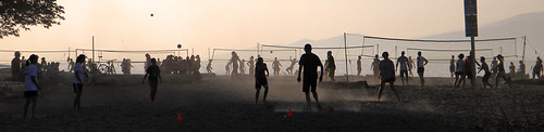Spanish Banks beach volleyball
