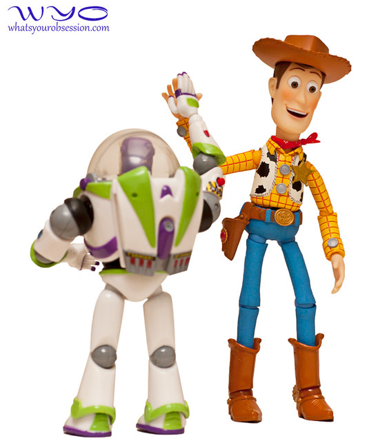 Revoltech Buzz Lightyear and Woody figures - 1 | Flickr - Photo Sharing!