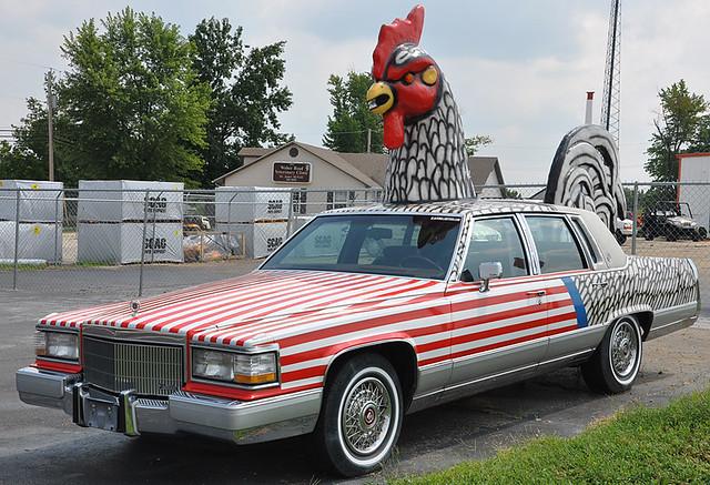 Chicken Cadillac Flickr Photo Sharing