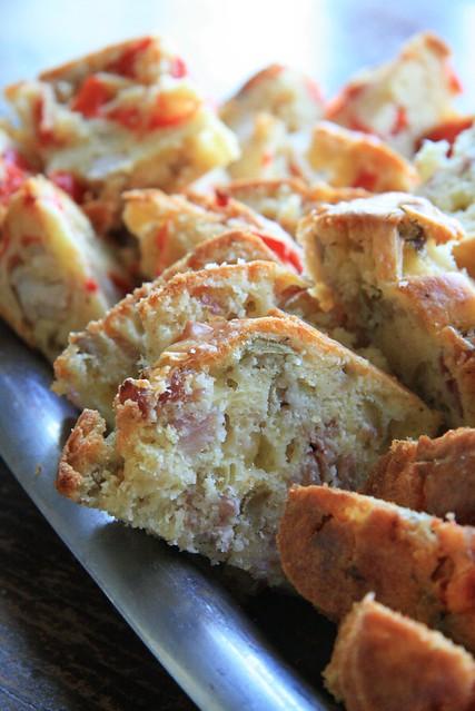 Cake Jambon Olives E Jambon Olives