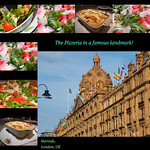 The Harrods Pizzeria : LONDON : ENGLAND : United Kingdom : Wonderful setting, great italian variety, superb flavours and choice, great service too! We had a great lunch here : LANDMARK : ICON : ENJOY! :)