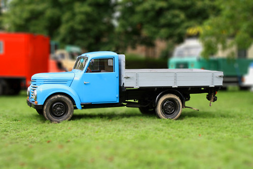 Tilt Shift / Miniature Effect - IFA Framo V 901/2 Pritschenwagen