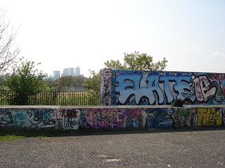 Blue Fade Stick Up -Plaistow