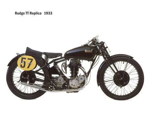 Rudge TT Replica 1933