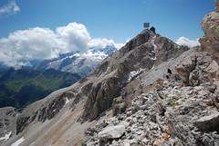 adventure(0.0), walking(0.0), valley(0.0), sports(0.0), recreation(0.0), outdoor recreation(0.0), mountaineering(0.0), backpacking(0.0), mountain pass(0.0), hiking(0.0), alps(1.0), mountain(1.0), snow(1.0), mountain range(1.0), cirque(1.0), summit(1.0), geology(1.0), ridge(1.0), plateau(1.0), arãªte(1.0), fell(1.0), wilderness(1.0), mountainous landforms(1.0),
