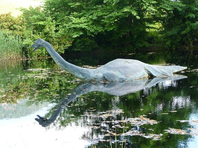 Loch Ness Monster at Drumnadrochit, Scotland