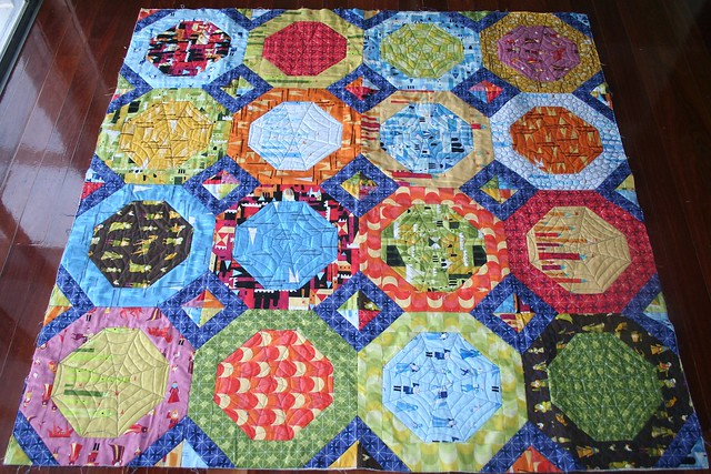 Octagon Quilting Templates : Castle Peeps Octagon Quilt Flickr - Photo Sharing!