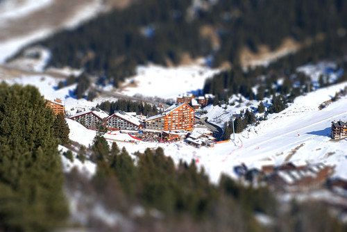 Meribel-Mottaret station