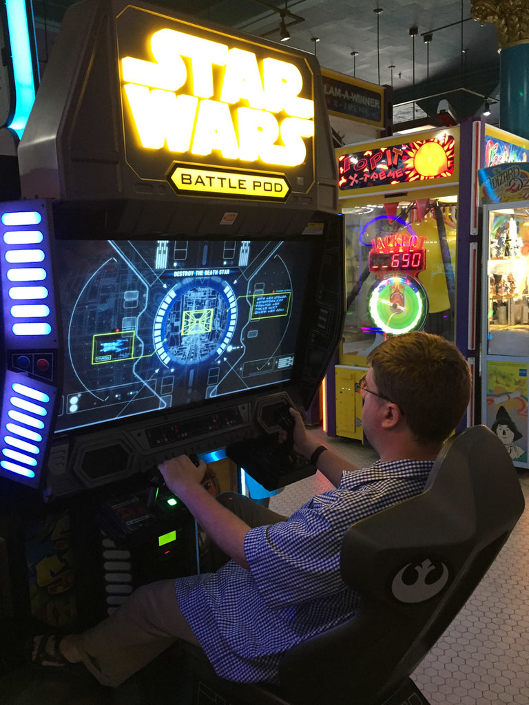 Games at arcade