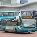 Arriva Midlands 2945 YJ61CFM Wrexham bus station 3 July 2017