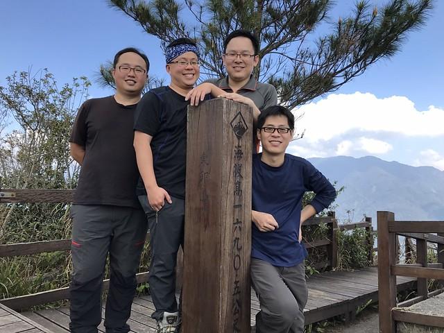 2017 谷關七雄-東卯山
