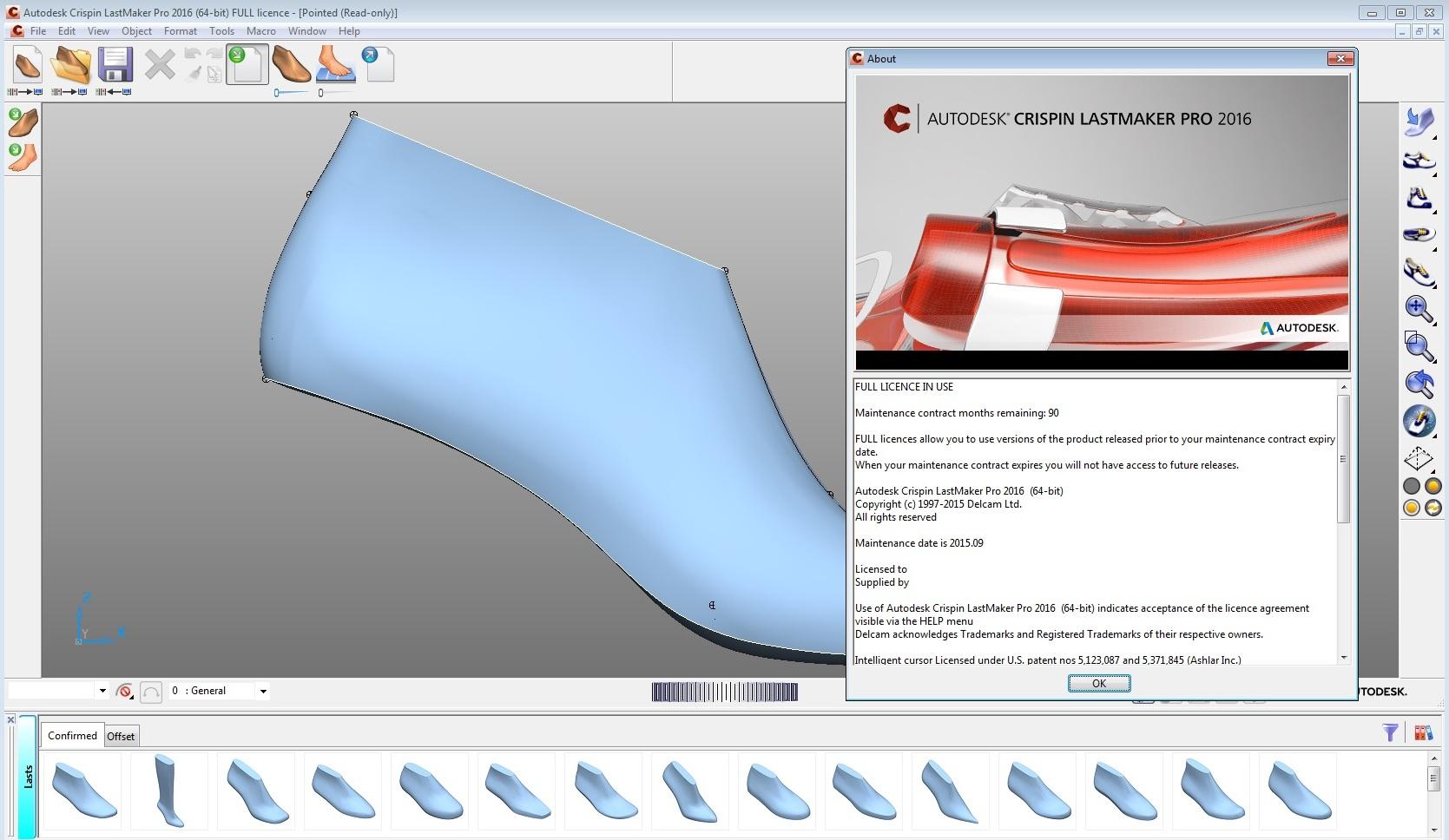 Design with Autodesk Crispin LastMaker 2016 R1 full