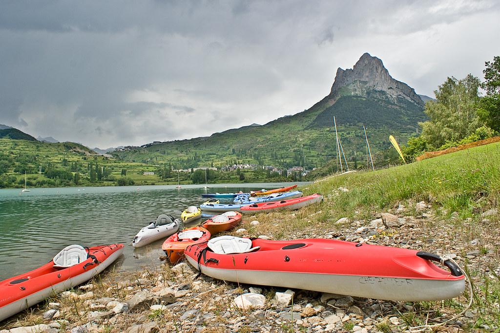 Canoas en Lanuza / Canoes in Lanuza
