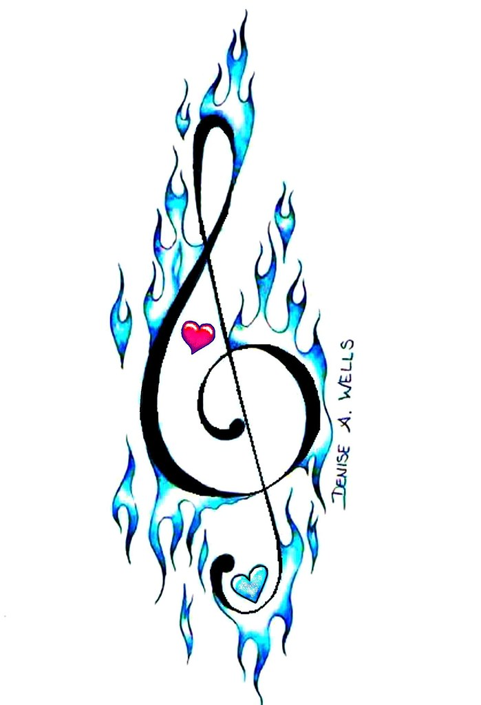 Musical Drawings Drawings of Music Notes