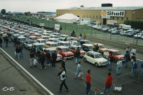 Oldie, 35mm - Silverstone 1989. 30th Anniversay of the Mini Rally by Stocker Images