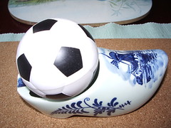 ball, white, shoe, blue, ball, football,