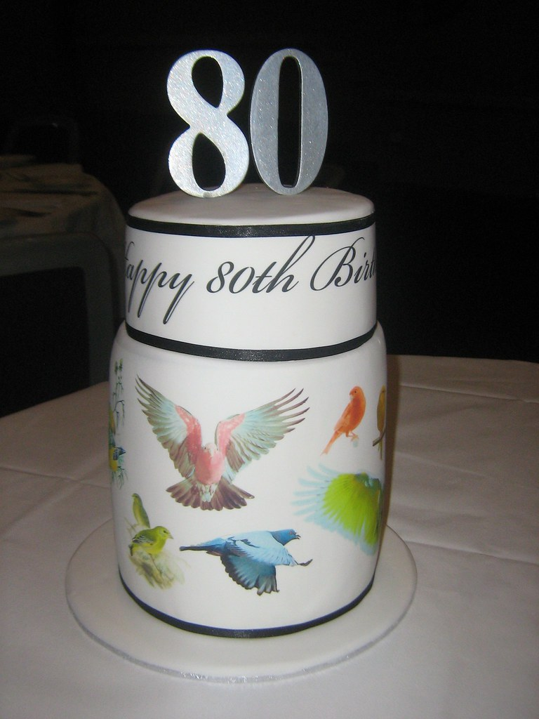 My Dads 80th Birthday Cake