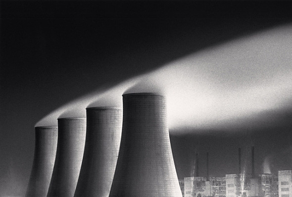 Chapel Cross Power Station, Study 1, Dumfries, by Michael Kenna 1985