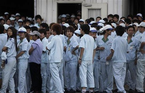 Chinese workers struck against Toyota and Honda during June 2010. Growing labor unrest against multi-national firms is demonstrating the increasing militantcy of the working class. by Pan-African News Wire File Photos