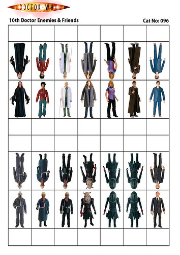 Cardstock - Paz096 - 10th Doctor Who Enemies & Friends-PaZZa