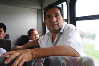 Amazon to the Gulf: Ecuadorean Delegation Tours BP's Oil Disaster