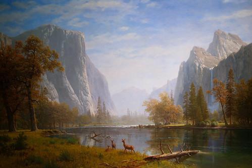 california wallpaper museum painting landscape albert famous historic canvas valley yosemite oil stockton bierstadt haggin darvin atkeson darv liquidmoonlightcom liquidmoonlighycom