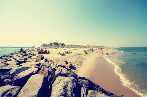 ocean sea sun beach sand rocks mare nj sigma wave shore 1020mm roccia sabbia manasquan nikond80 fedesk8