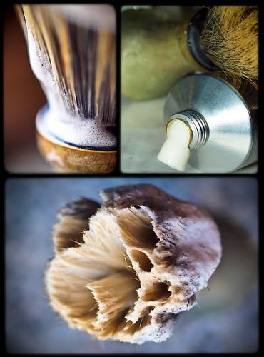 il pennello da barba