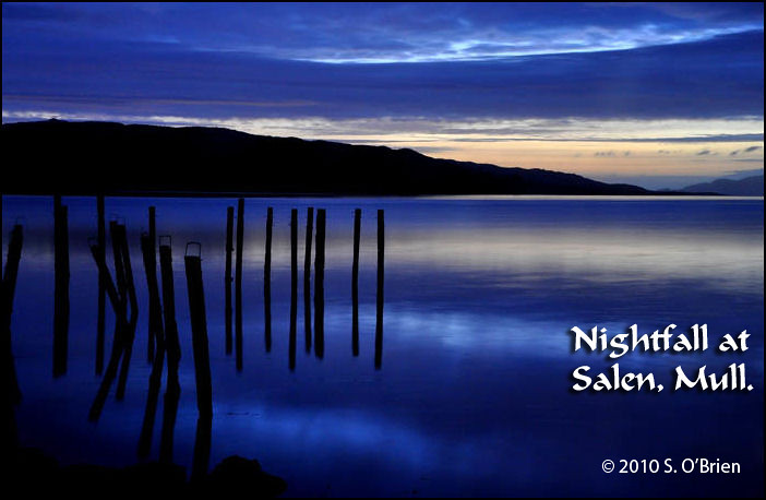 (S) Nightfall,  Salen