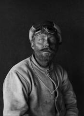 Portrait of C.H. Meares, Scott Expedition, Antarctica by Herbert George Ponting 1912