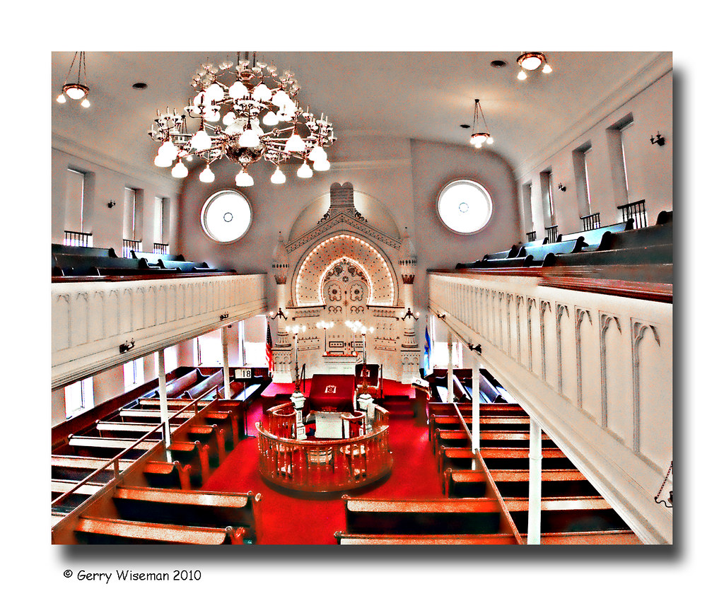 Bnai Israel Synagogue, Lloyd St. Baltimore, MD