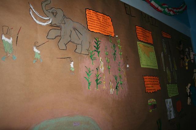 Peri dico mural d a nacional del ma z 5 peri dico mural for Contenido del periodico mural