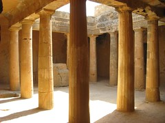 Tumulos dos Reis em Paphos, Chipre